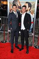 Max Carver &amp; Charlie Carver at the world premiere for &quot;Fist Fight&quot; at the Regency Village Theatre, Westwood, Los Angeles, USA 13 February  2017<br /> Picture: Paul Smith/Featureflash/SilverHub 0208 004 5359 sales@silverhubmedia.com