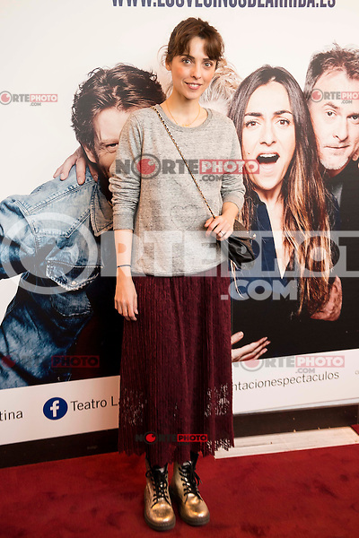 "Leticia Dolera attends to the premiere of the theater play ""Los Vecinos de Arriba"" of the director Cesc Gayt at Teatro La Latina in Madrid. April 13, 2016. (ALTERPHOTOS/Borja B.Hojas)"