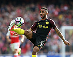 Manchester City's Raheem Sterling in action during the Premier League match at the Emirates Stadium, London. Picture date: April 2nd, 2017. Pic credit should read: David Klein/Sportimage