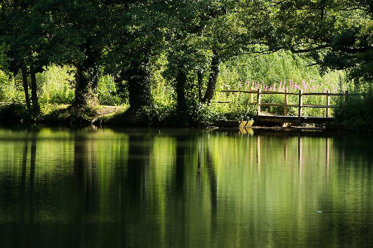 Gardens at Wakehurst Place - Royal Botanic Gardens, Kew. Ardingly, West Sussex, UK.