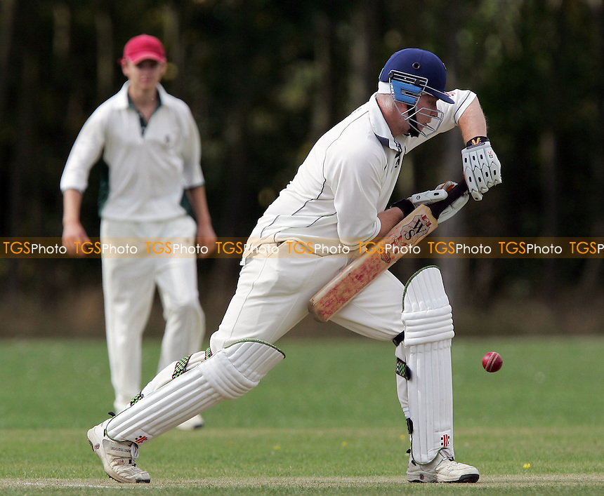 J French in batting action for Havering - South Woodham Ferrers CC vs Havering-atte-Bower CC - Mid Essex Cricket League - 01/09/07  - MANDATORY CREDIT: Gavin Ellis/TGSPHOTO - SELF-BILLING APPLIES WHERE APPROPRIATE. NO UNPAID USE. TEL: 0845 094 6026..