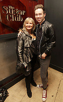 04/06/14<br /> (No Fee pixs) Grace Dunne and Mark Rogers arriving to the Stella Bass Album Launch &ldquo;TOO DARN HOT&rdquo; which took place in the Sugar Club Co Dublin this evening&hellip;<br /> Pic Collins  Photos