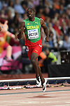 Lindon VICTOR (GRN) in the mens decathlon 400m. IAAF world athletics championships. London Olympic stadium. Queen Elizabeth Olympic park. Stratford. London. UK. 11/08/2017. ~ MANDATORY CREDIT Garry Bowden/SIPPA - NO UNAUTHORISED USE - +44 7837 394578