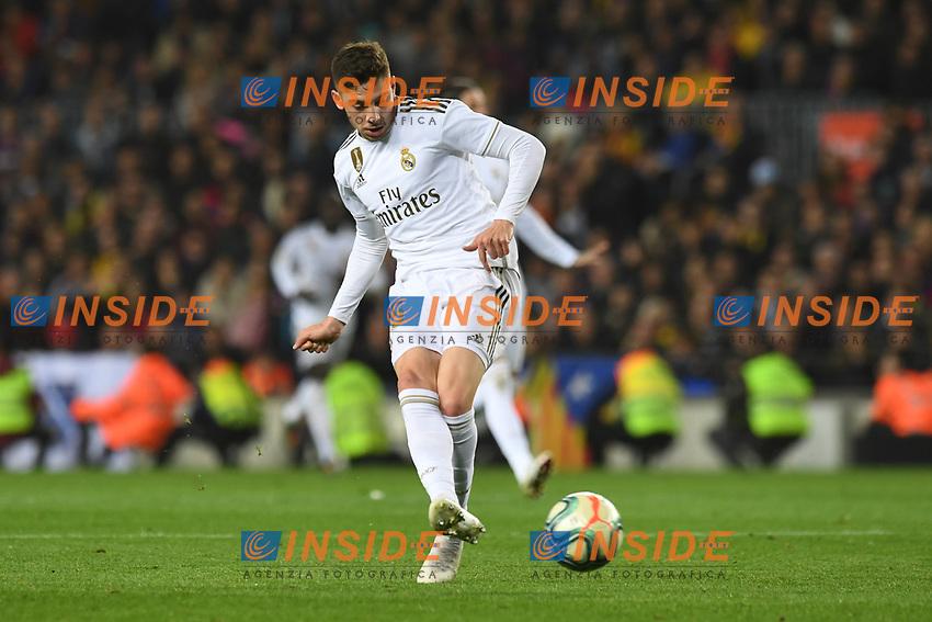 Ernesto Valverde<br /> <br /> <br /> 18/12/2019 <br /> Barcelona - Real Madrid<br /> Calcio La Liga 2019/2020 <br /> Photo Paco Largo Panoramic/insidefoto <br /> ITALY ONLY