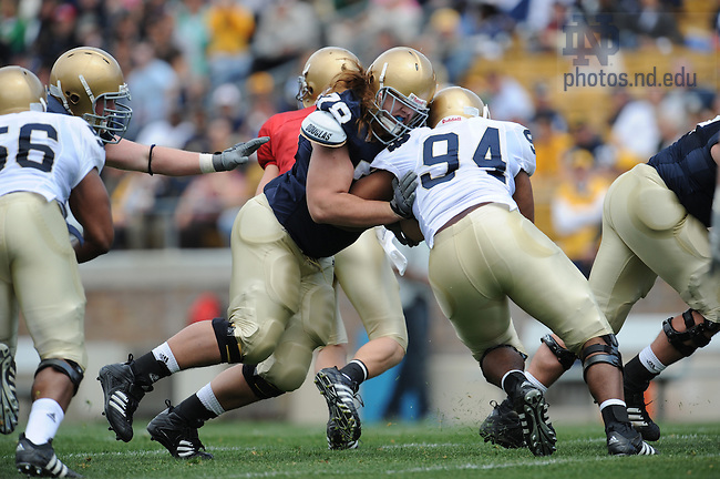 Blue-Gold game 2008..Photo by Matt Cashore.