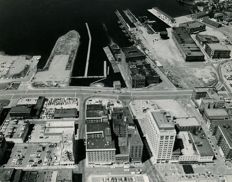 UNDATED..Redevelopment.Downtown West (A-1-6)..Looking West at future Nauticus site & Freemason Harbor...NEG#.NRHA#..