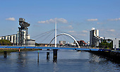 Glasgow River Clyde-scape - Picture by Donald MacLeod - 26.07.11 - 07702 319 738 - www.donald-macleod.com