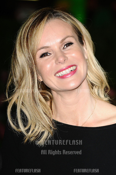 "Amanda Holden arriving for the ""Rise of the Guardians"" premiere at the Empire Leicester Square, London. 15/11/2012 Picture by: Steve Vas / Featureflash"