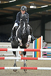 Class 3. 1.05m Open British Showjumping seniors. Brook Farm training centre. Essex. 01/10/2017. MANDATORY Credit Garry Bowden/Sportinpictures - NO UNAUTHORISED USE - 07837 394578