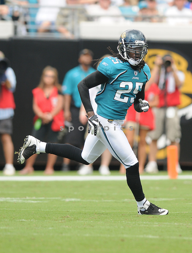 REGGIE NELSON,of the Jacksonvile Jaguarss , in action during the Jaguars game against the Arizona Cardinalss on September 20, 2009 Jacksonvile, FL.  The Cardinals beat the Jaguars 31-17.