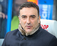 Swansea City manager Carlos Carvalhal <br /> <br /> Photographer Alex Dodd/CameraSport<br /> <br /> The Premier League - Huddersfield Town v Swansea City - Saturday 10th March 2018 - John Smith's Stadium - Huddersfield<br /> <br /> World Copyright &copy; 2018 CameraSport. All rights reserved. 43 Linden Ave. Countesthorpe. Leicester. England. LE8 5PG - Tel: +44 (0) 116 277 4147 - admin@camerasport.com - www.camerasport.com