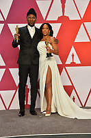 LOS ANGELES, CA. February 24, 2019: Regina King & Mahershala Ali at the 91st Academy Awards at the Dolby Theatre.<br /> Picture: Paul Smith/Featureflash