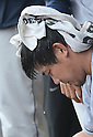 Daisuke Matsuzaka (Clippers),<br /> JUNE 11, 2013 - MLB :<br /> Daisuke Matsuzaka of the Columbus Clippers sits in the dugout during minor's International League (Triple-A) baseball game against the Gwinnett Braves at Coolray Field in Lawrenceville, Georgia, United States. (Photo by AFLO)