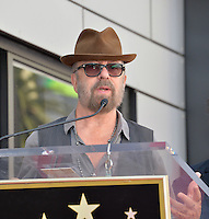 LOS ANGELES, CA. September 2, 2016: Dave Stewart at the Hollywood Walk of Fame star ceremony honoring musicians Daryl Hall &amp; John Oates. <br /> Picture: Paul Smith / Featureflash