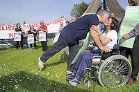 - Giornata mondiale contro l'amianto, manifestazione organizzata dal Centro di Iniziativa Proletaria di Sesto S.Giovanni per la sicurezza e i morti su l lavoro<br /> <br /> - World Day against asbestos, demonstration organized by the Centre of Proletarian Initiative in Sesto San Giovanni  for safety and  deads on the work