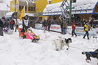 Wade Marrs Saturday, March 3, 2012  Ceremonial Start of Iditarod 2012 in Anchorage, Alaska.