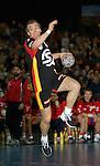 Handball Herren, Laenderspiel, UNIVERSA-CUP Hanns-Martin-Schleyerhalle Stuttgart (Germany) Nationalmannschaften, Deutschland - Tschechien Christian Zeitz (GER) am Ball