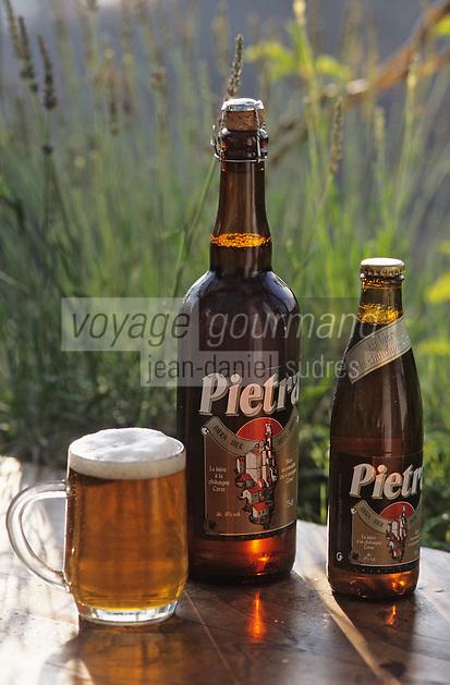 """France/Corse/Corse-du-Sud/2A/Ajaccio: Bière de chataigne corse - """"Pietra"""""""