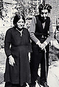 Iran 1960. In Rezaieh, the parents of Abdul Rahman Ghassemlou <br />