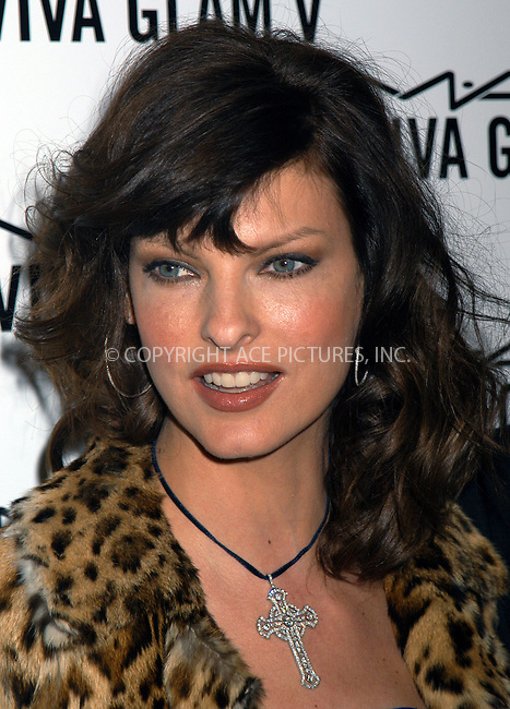 Linda Evangelista at launch party for M.A.C. AIDS Fund. New York, February 11, 2004. Please byline: AJ SOKALNER/ACE Pictures.   ..*PAY-PER-USE*      ....IMPORTANT: Please note that our old trade name, NEW YORK PHOTO PRESS (NYPP), is replaced by new name, ACE PICTURES. New York Photo Press and ACE Pictures are owned by All Celebrity Entertainment, Inc.......All Celebrity Entertainment, Inc:  ..contact: Alecsey Boldeskul (646) 267-6913 ..Philip Vaughan (646) 769-0430..e-mail: info@nyphotopress.com
