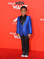 LOS ANGELES, CA. January 28, 2019: Auston Jon Moore at the US premiere of &quot;What Men Want!&quot; at the Regency Village Theatre, Westwood.<br /> Picture: Paul Smith/Featureflash