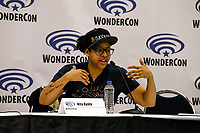 Vita Ayala at Wondercon in Anaheim Ca. March 31, 2019