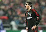 Bayern Munich's Luca Toni reacts during UEFA Cup match, April 03, 2008. (ALTERPHOTOS/Alvaro Hernandez)