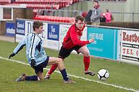 Eastbourne Borough FC u18s (0) (5) - Crowborough AFC u18s (1) (1)  24.03.13