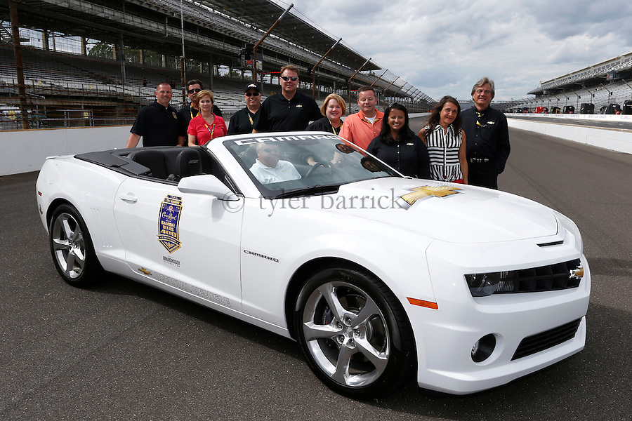 INDIANAPOLIS, IN - during the Brickyard 400 at Indianapolis Motor Speedway on July 28, 2013