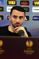 Pictured: Footballer Leon Britton. Wednesday 19 February 2014<br />