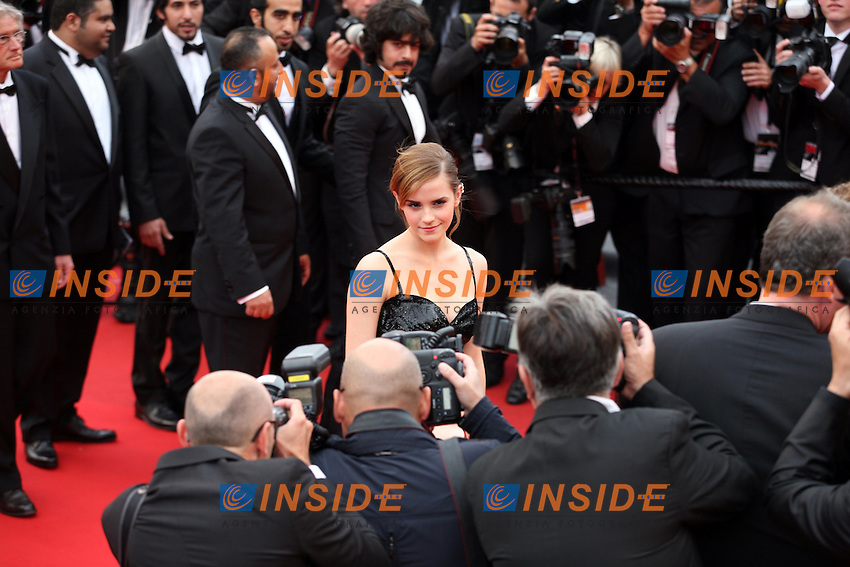 Emma Watson .Cannes 16/5/2013.Festival del Cinema .Foto Panoramic / Insidefoto .ITALY ONLY