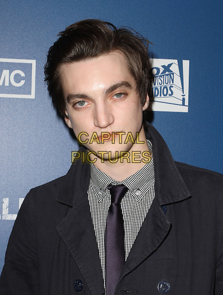 "RICHARD HARMON .Premiere Of AMC's Series ""The Killing""  Held At The Harmony Gold Theatre,  Los Angeles, California, USA, .21st  March 2011.portrait headshot  grey gray suit toe purple .CAP/ADM/KB.©Kevan Brooks/AdMedia/Capital Pictures."