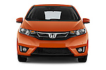 Car photography straight front view of a 2016 Honda Jazz Elegance 5 Door Hatchback Front View