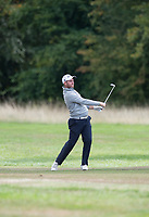 Max Orrin plays his approach shot during the final round of the  Bridgestone Challenge, Luton Hoo Hotel, Bedfordshire, England. 09/09/2018.<br /> Picture  / Golffile.ie<br /> <br /> All photo usage must carry mandatory copyright credit (&copy; Golffile | )