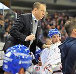 Adler Mannheim Trainer Greg Ireland