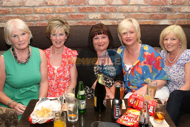 Anita Finegan, Anne Glynn, Angela Creegan, Olive Duffy and Deirdre Bidwell in the Pheasant...(Photo Jenny Matthews/www.newsfile.ie)