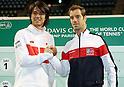 Tennis - Davis Cup 2017 : Japan vs France