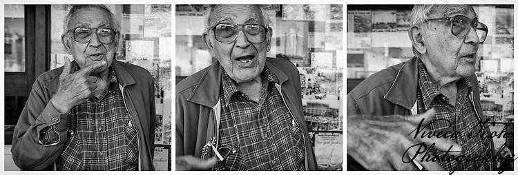 Morris, who I met at Coney Island, Brooklyn, NYC