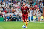 Aleksandar Kolarov of Roma in action during the UEFA Champions League 2018-19 match between Real Madrid and Roma at Estadio Santiago Bernabeu on September 19 2018 in Madrid, Spain. Photo by Diego Souto / Power Sport Images
