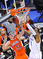 Bucknell Bison vs. Connecticut Huskies, NCAA Tournament 2nd Round, March 17, 2011