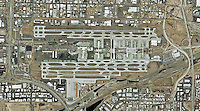 aerial map of Phoenix Sky Harbor International Airport, Phoenix, Artisona