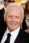 LOS ANGELES, CA. - January 25: Actor Sir Anthony Hopkins  arrives at the 15th Annual Screen Actors Guild Awards held at the Shrine Auditorium on January 25, 2009 in Los Angeles, California.