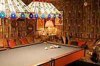 Graceland, home of Elvis Presley : games room