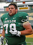 Baylor Bears offensive linesman Jake Jackson (70) in action during the game between the Stephen F. Austin Lumberjacks and the Baylor Bears at the Floyd Casey Stadium in Waco, Texas. Baylor defeats SFA 48 to 0.