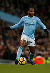 Raheem Sterling of Manchester City during the premier league match at the Etihad Stadium, Manchester. Picture date 3rd December 2017. Picture credit should read: Andrew Yates/Sportimage