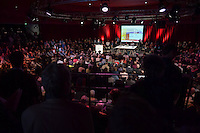 4. Stadtforum Berlin.<br /> Um ueber den Wandel der Stadt und noetige stadtenwicklungspolitische Massnahmen und Moeglichkeiten zu diskutieren fand am Montag den 4. April 2016 im Berliner Tempodrom das 4. Stadtforum Berlin statt.<br /> Berlins Senator fuer Stadtentwicklung und Umwelt, Andreas Geisel (SPD) - im Bild - , hielt die Einfuehrung zu der Veranstaltung.<br /> 4.4.2016, Berlin<br /> Copyright: Christian-Ditsch.de<br /> [Inhaltsveraendernde Manipulation des Fotos nur nach ausdruecklicher Genehmigung des Fotografen. Vereinbarungen ueber Abtretung von Persoenlichkeitsrechten/Model Release der abgebildeten Person/Personen liegen nicht vor. NO MODEL RELEASE! Nur fuer Redaktionelle Zwecke. Don't publish without copyright Christian-Ditsch.de, Veroeffentlichung nur mit Fotografennennung, sowie gegen Honorar, MwSt. und Beleg. Konto: I N G - D i B a, IBAN DE58500105175400192269, BIC INGDDEFFXXX, Kontakt: post@christian-ditsch.de<br /> Bei der Bearbeitung der Dateiinformationen darf die Urheberkennzeichnung in den EXIF- und  IPTC-Daten nicht entfernt werden, diese sind in digitalen Medien nach §95c UrhG rechtlich geschuetzt. Der Urhebervermerk wird gemaess §13 UrhG verlangt.]