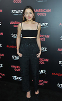 www.acepixs.com<br /> <br /> April 20 2017, New York City<br /> <br /> Zelda Williams arriving at the premiere of 'American Gods' at the ArcLight Cinemas Cinerama Dome on April 20, 2017 in Hollywood, California.<br /> <br /> By Line: Peter West/ACE Pictures<br /> <br /> <br /> ACE Pictures Inc<br /> Tel: 6467670430<br /> Email: info@acepixs.com<br /> www.acepixs.com