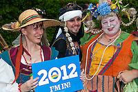 LA Pride 2011, Female, Male, Participants, Renaissance Clothing
