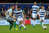 Ilias Chair of Queens Park Rangers  during Queens Park Rangers vs Blackburn Rovers, Sky Bet EFL Championship Football at Loftus Road Stadium on 5th October 2019