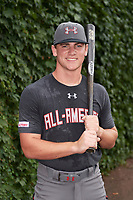 Cole Turney (14) of Fort Bend Travis High School in Richmond, Texas poses for a photo before the Under Armour All-American Game presented by Baseball Factory on July 23, 2016 at Wrigley Field in Chicago, Illinois.  (Mike Janes/Four Seam Images)